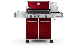 Weber gasbarbecue Genesis E 330 crimson red